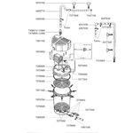 EHEIM Pièces détachées pour filtre externe Eheim Classic 1500 XL (2260)
