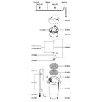 EHEIM Pièces détachées pour filtre externe Eheim Classic 2217