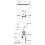 EHEIM Pièces détachées pour filtre externe Eheim Classic 2215