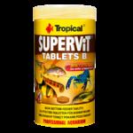 TROPICAL SuperVit Tablets B 250ml tablettes pour poissons de fond, riches en protéines avec beta-glucan