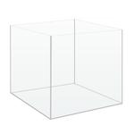 Cuve nue AkouaCube 25 x 25 x 25 cm 15 L en verre 4 mm pour Nano-aquarium