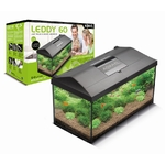 AQUAEL Leddy 60 aquarium équipé 60 x 30 x 30 cm, 54L avec éclairage LEDs 6W