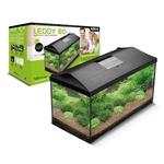 AQUAEL Leddy 80 aquarium équipé 75 x 35 x 40 cm, 105L avec éclairage LEDs 18W