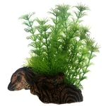 HOBBY Flora Root 3 taille S 17 cm composition de plantes artificielles sur racine