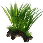 HOBBY Flora Root 1 taille S 17 cm composition de plantes artificielles sur racine