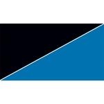 Poster de fond prédécoupé 60 x 30 cm pour aquarium. Imprimé sur deux faces Bleu/Noir