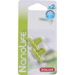 ZOLUX NanoLife Air lot de 2 robinets en plastique pour système d'aération