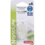 ZOLUX NanoLife lot de 4 ventouses pour tuyaux d'eau 9/12 mm