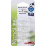 ZOLUX NanoLife lot de 4 ventouses pour tuyaux d'eau 16/22 mm