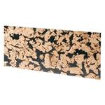 HOBBY Lot de 2 parois arrières en liège Bornéo black 60 x 30 x 0,3 cm pour terrarium sec et humide