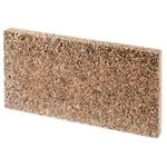 HOBBY Paroi arrière en liège Java 50 x 30 x 2 cm pour terrarium sec et humide