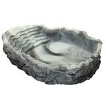 HOBBY Abreuvoir / Baignoire L marbré 550 ml 24 x 17 x 5 cm pour réptiles