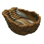 HOBBY Abreuvoir / Baignoire S gris-beige 50 ml dimension 10 x 8 x 3 cm pour réptiles
