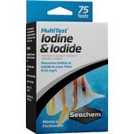 SEACHEM MultiTest Iodine & Iodide pour le test précis de la teneur en Iode et en Iodure en aquarium d'eau de mer