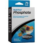 SEACHEM MultiTest PO4 pour le test précis du taux de Phosphate en aquarium d'eau douce et d'eau de mer