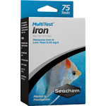 SEACHEM MultiTest Iron pour le test précis de la teneur en Fer en aquarium d'eau douce et d'eau de mer