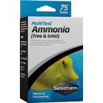 SEACHEM MultiTest Ammonia pour le test précis de la teneur en Ammoniaque en aquarium d'eau douce et et d'eau de mer