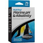 SEACHEM MultiTest Marine pH & Alkalinity pour le test précis du taux de pH et d'Alcalinité en aquarium d'eau de mer