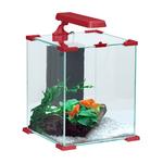 ZOLUX Aqua Nanolife Cube 20 Rouge nano-aquarium 22 L tout équipé 27 x 27 x 32,5 de haut