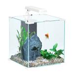 ZOLUX Aqua Nanolife Cube 30 Blanc nano-aquarium 33 L tout équipé 32 x 32 x 34,5 de haut