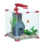 ZOLUX Aqua Nanolife Cube 30 Rouge nano-aquarium 33 L tout équipé 32 x 32 x 34,5 de haut