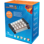 AQUATLANTIS Safe Lighting bloc d'éclairage 15 LEDs 1,2W pour aquarium d'eau douce