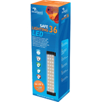 AQUATLANTIS Safe Lighting bloc d'éclairage 36 LEDs 3W pour aquarium d'eau douce