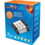 AQUATLANTIS Safe Lighting bloc d'éclairage 9 LEDs 0,8W pour aquarium d'eau douce