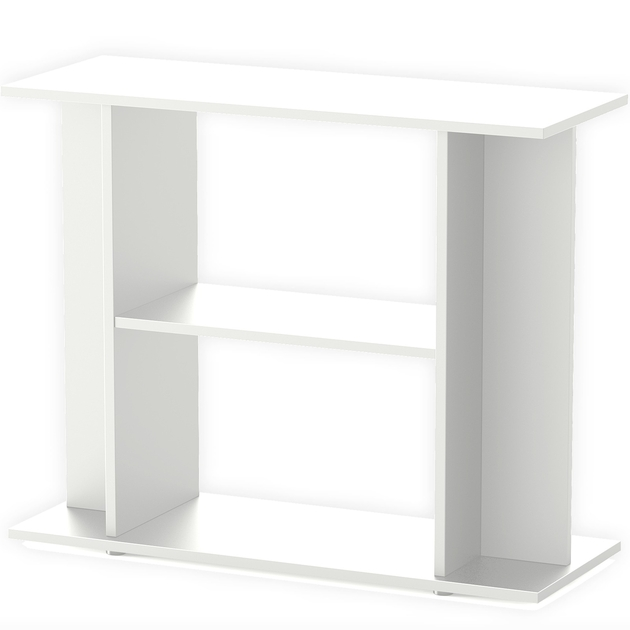 meuble blanc avec tag re aquatlantis pour aquarium de 100 x 30 cm meubles d 39 aquarium meubles. Black Bedroom Furniture Sets. Home Design Ideas