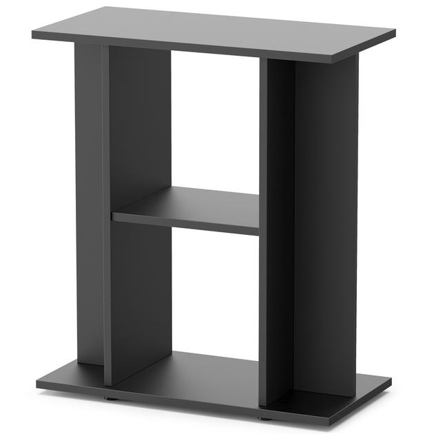 meuble noir avec tag re aquatlantis pour aquarium de 60 x 30 cm meubles d 39 aquarium meubles d. Black Bedroom Furniture Sets. Home Design Ideas
