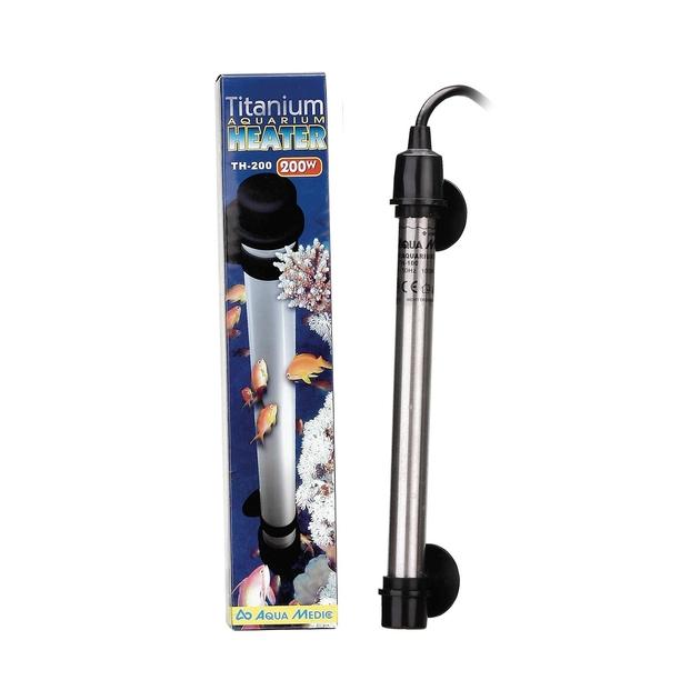 Aqua medic titanium heater 200w chauffage incassable en for Boutique aquariophilie