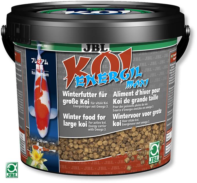 Jbl koi energil 5 5l maxi nourriture hivernale de premi re for Nourriture pour carpe koi