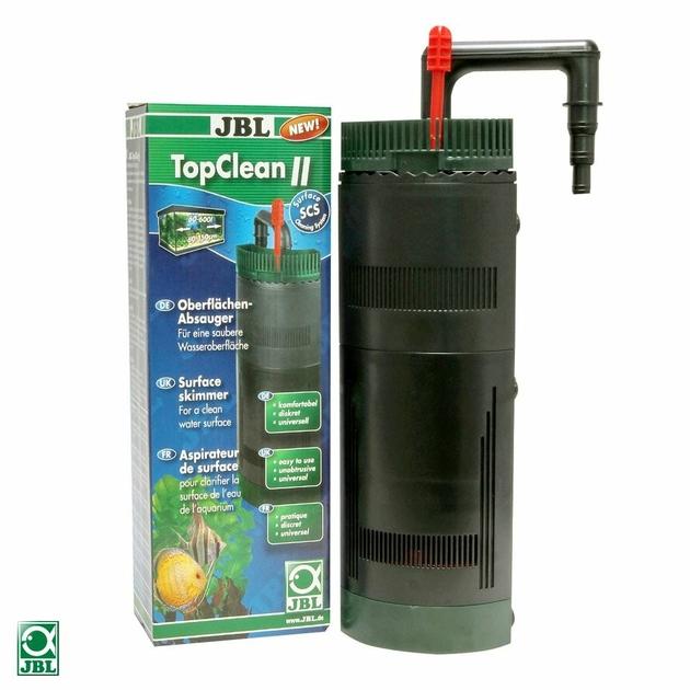 jbl topclean 2 seconde g 233 n 233 ration d aspirateur de surface pour aquarium avec filtre externe