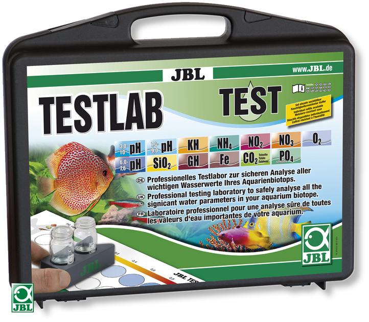 jbl testlab coffret de test professionnel pour les analyses d eau douce sets de tests et
