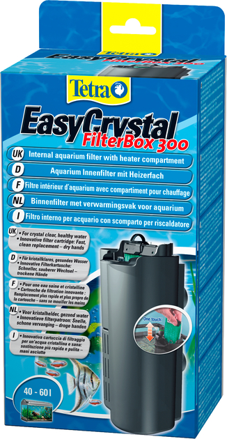 Tetra easycrystal filterbox 300 filtre interne avec for Interieur filter