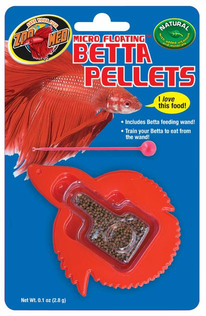 Zoomed micro floating betta pellets nourriture sp ciale for Nourriture poisson betta