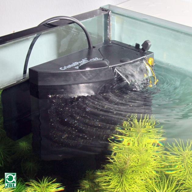 Jbl cristalprofi m greenline filtre interne plat pour for Aquarium plat