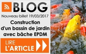 Comment construire un bassin de jardin avec une bâche EPDM