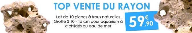 pierre-a-trous-aquarium-décoration