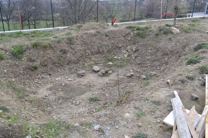 Construction d\'un bassin de jardin avec bâche EPDM