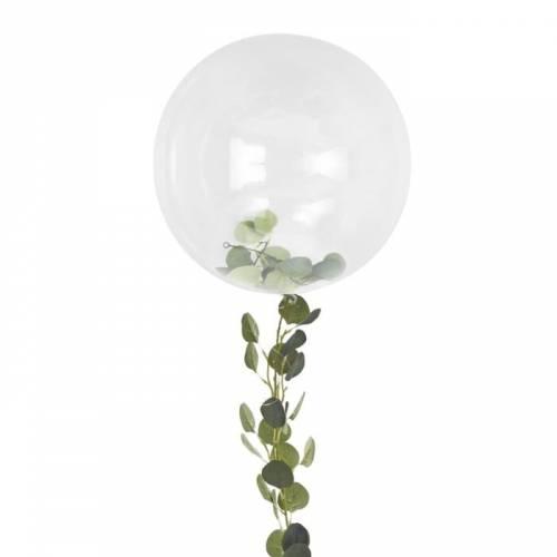 Gros Ballon 90 cm avec Feuillage