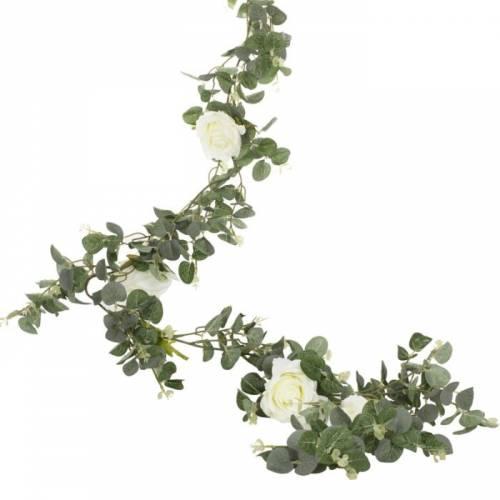 Guirlande Eucalyptus et Roses