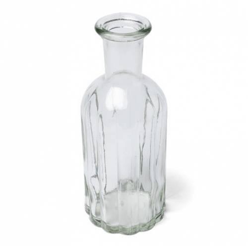 Vase ciselé en verre