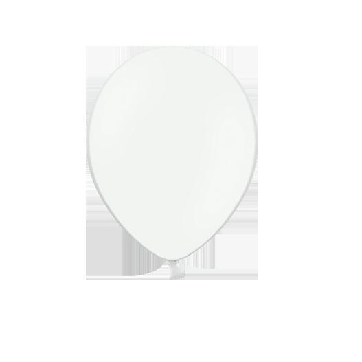10 ballons Blanc - 30 cm