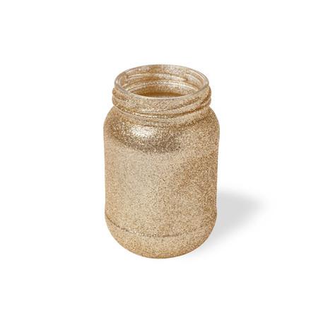 Vase Glitter Pailleté cuivre