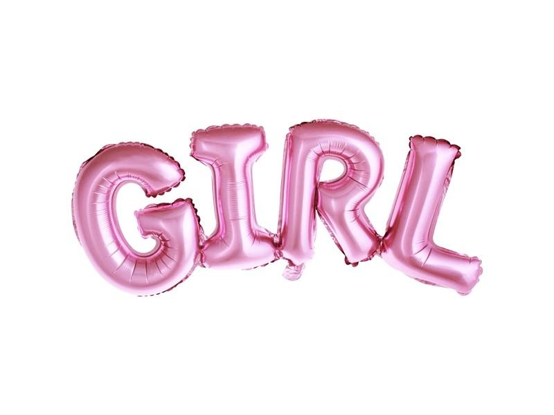Ballon lettre GIRL