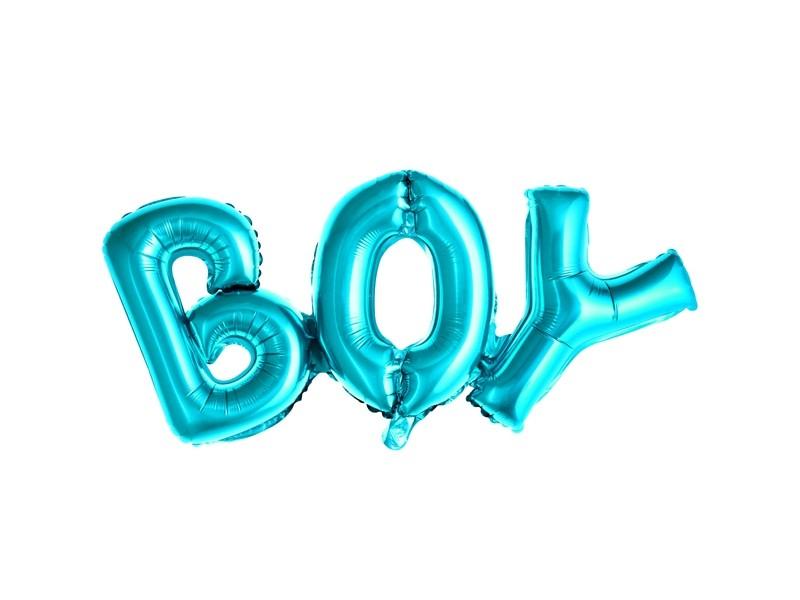 Ballon lettre BOY