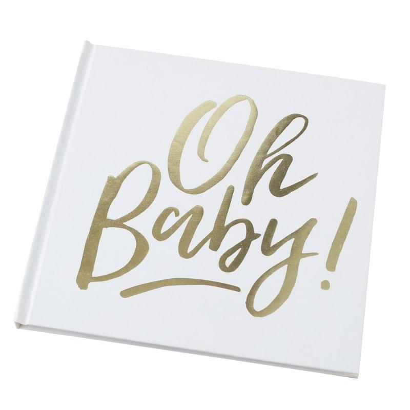 Livre d\'or Oh Baby doré