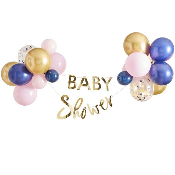 Kit Ballon et Guirlande Baby shower mixte