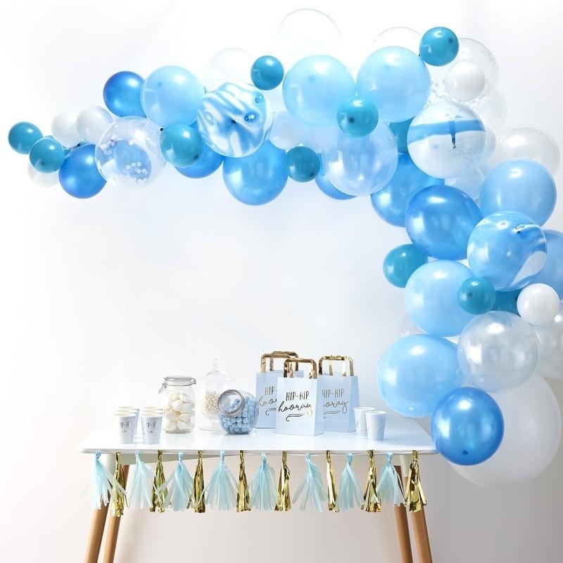 Kit pour Arche 70 ballons bleus